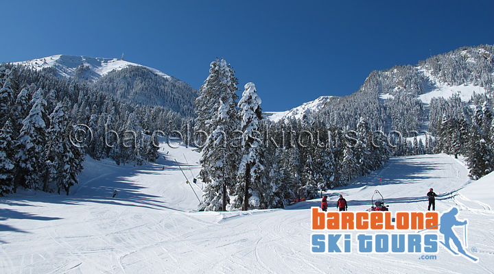 Ski Day Trip Masella near Barcelona