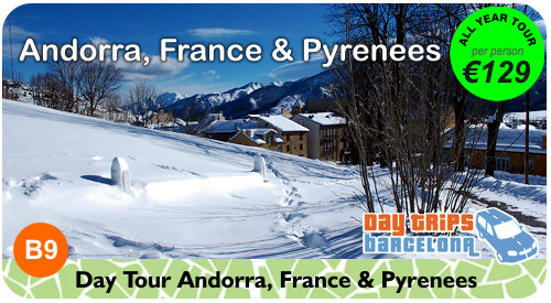 Day Tour to Andorra and Pyrenees Mountains from Barcelona